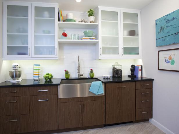 Image of: two tone kitchen cabinets simple ideas