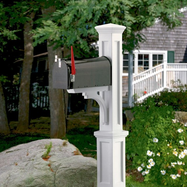 Image of: unique modern mailbox