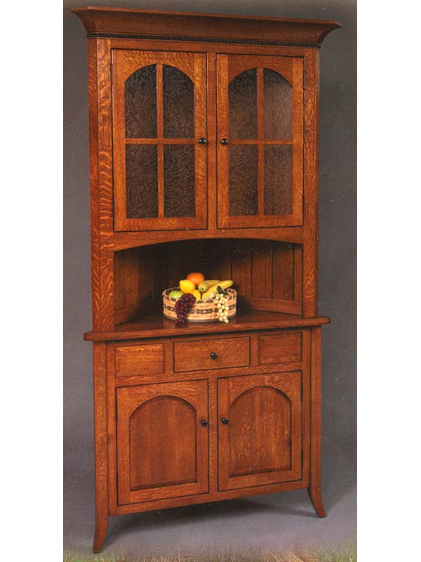 Picture of: valleys hake rcorner hutch ideas