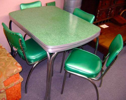 vintage Retro Kitchen Table ideas
