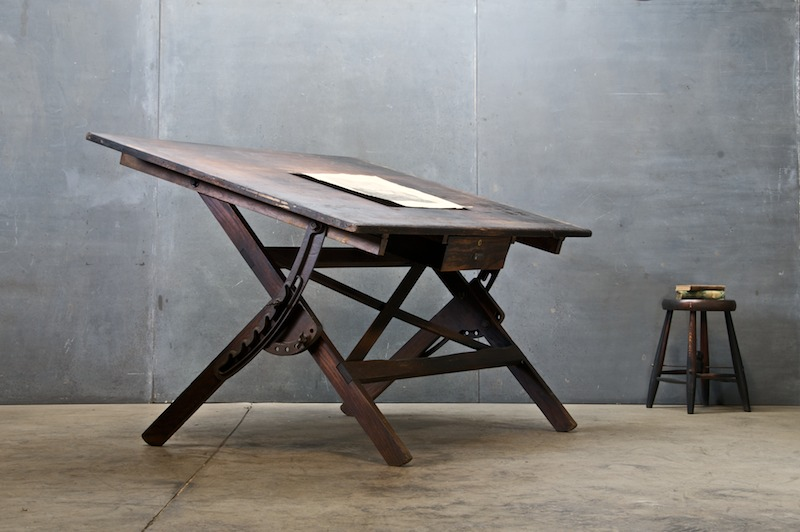 Picture of: vintage drafting table ideas