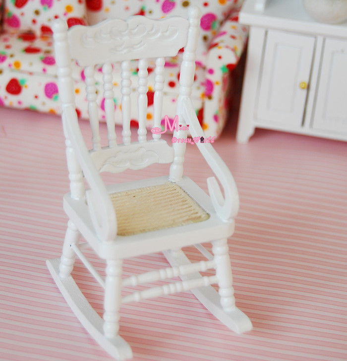 Image of: vintage wooden rocking chairs