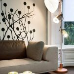wall decal modern livingroom