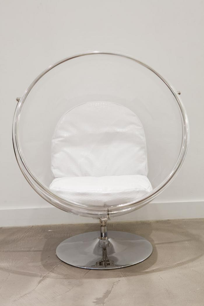 Image of: white Bubble Chair