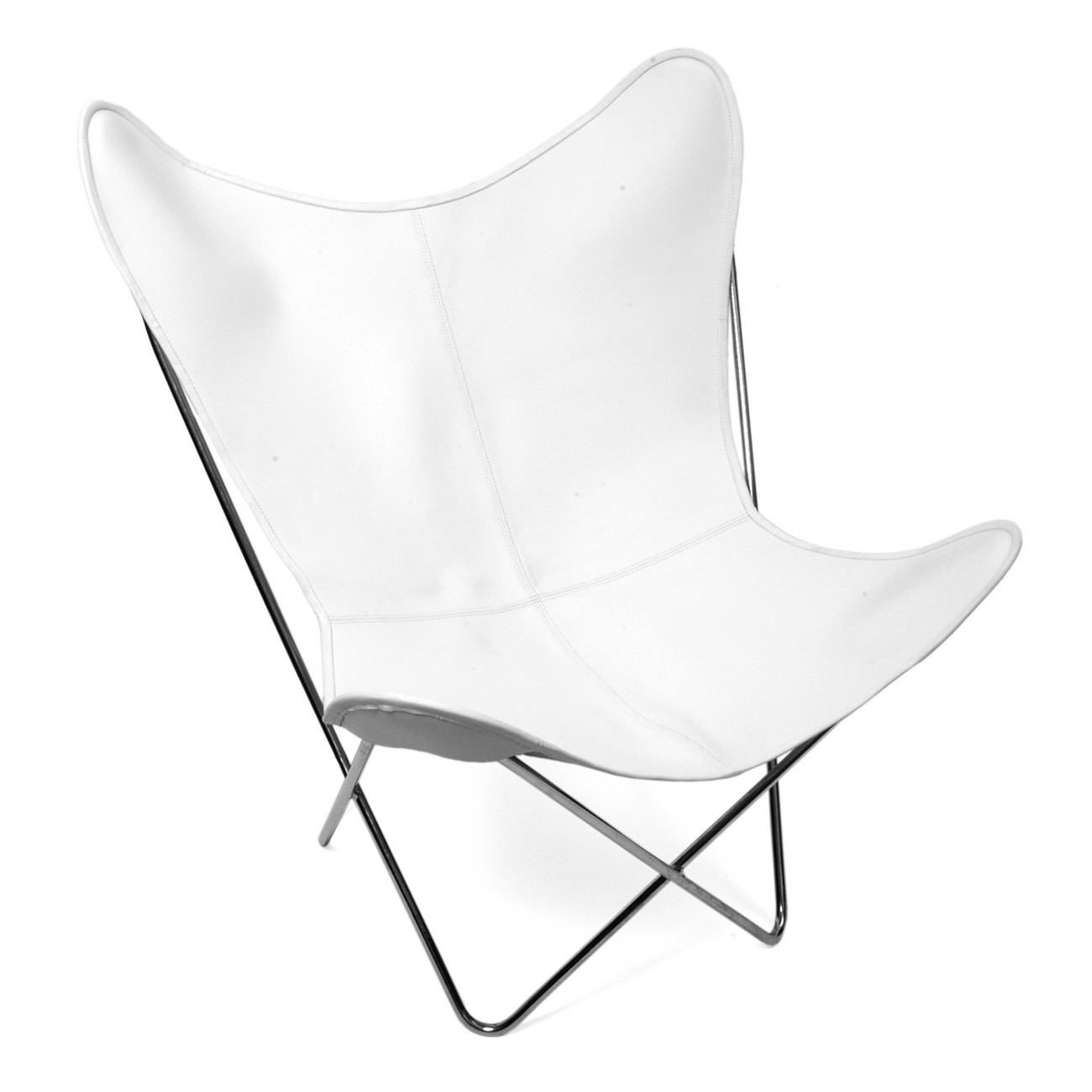 Image of: white butterfly chairs