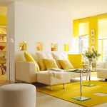 yellow accent chair for livingroom