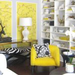 yellow accent chair ideas