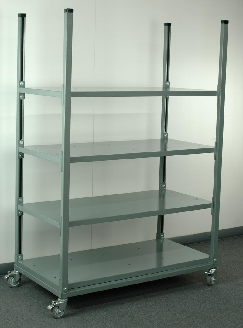 Image of: Adjustable Shelving Carts