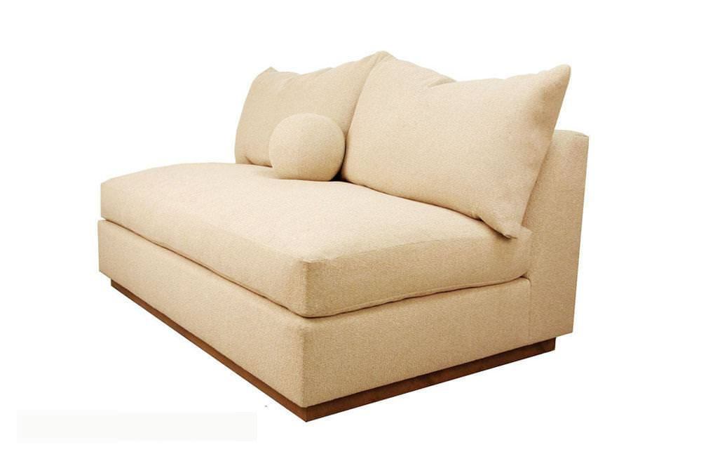 Armless Loveseat Cover