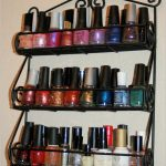 Awesome Scroll Wall Mount Shelves Spice Rack Black Metal