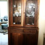 Beautiful antique china cabinet