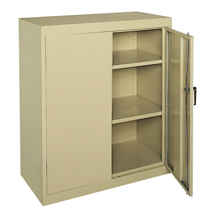 Image of: Counter Height Cabinet with Adjustable Shelving