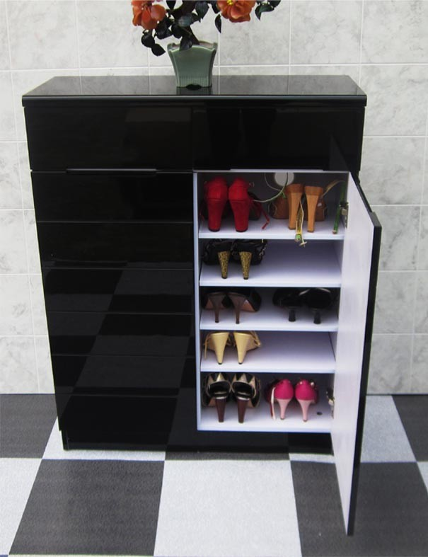 Picture of: Ellegant Shoe Cabinet