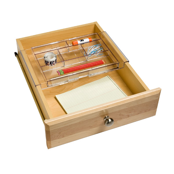 Picture of: Expanding Acrylic Drawer Organizer