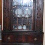 General antique china cabinet