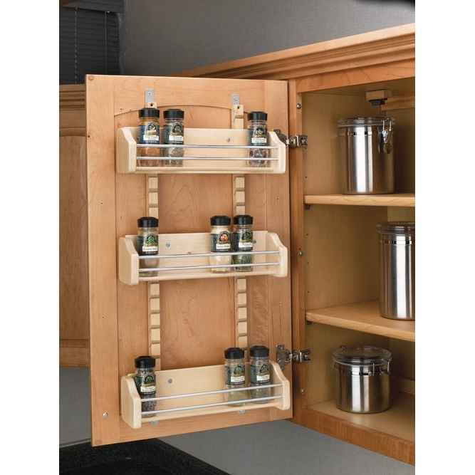 Image of: Ideas Wall Spice Rack Image