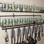 Innovative And Creative Wall Hanging Spice Racks