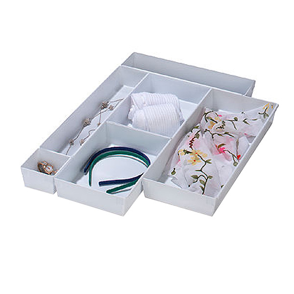 Picture of: Interlocking Drawer Organizer