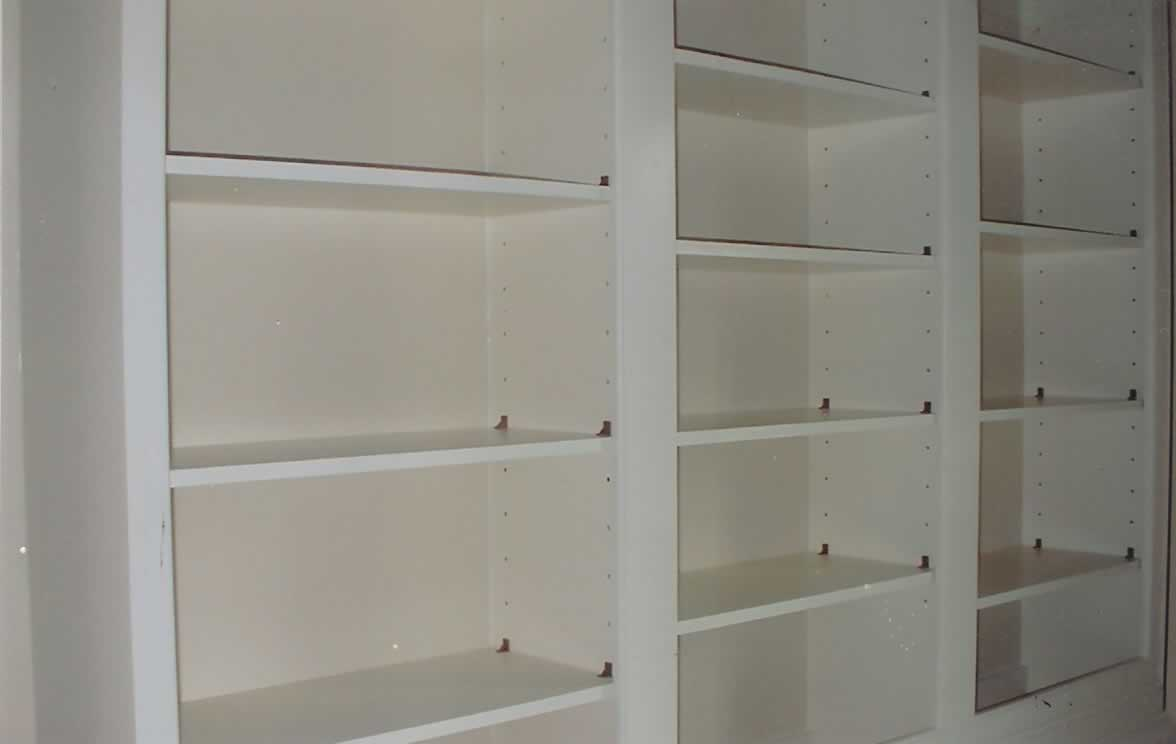 Image of: Office library with adjustable shelving
