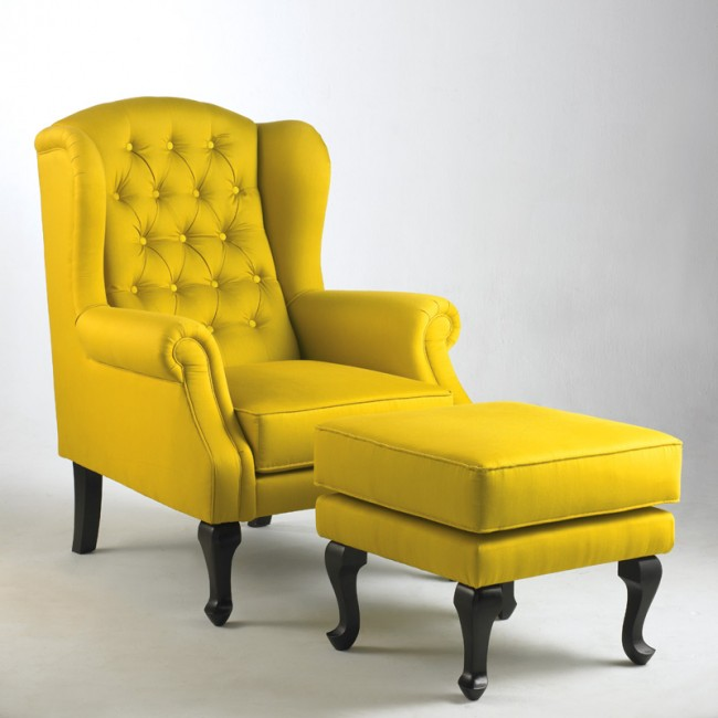 Image of: Paris wing chair