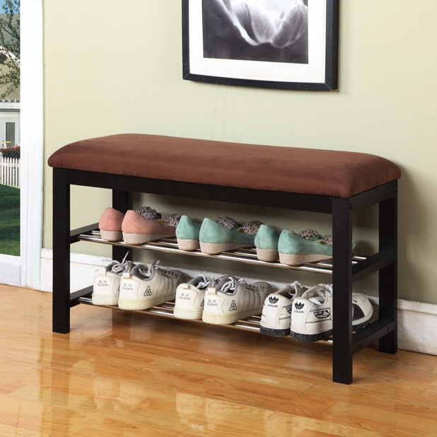 Image of: Shoe Storage Bench Hallway