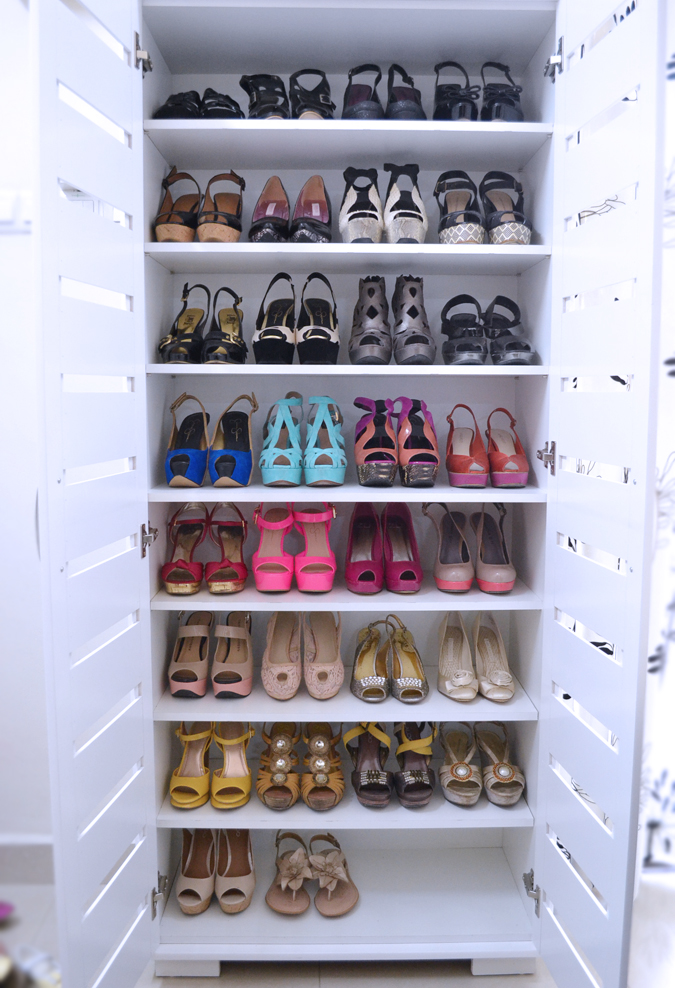 Picture of: Simple Shoe Cabinet