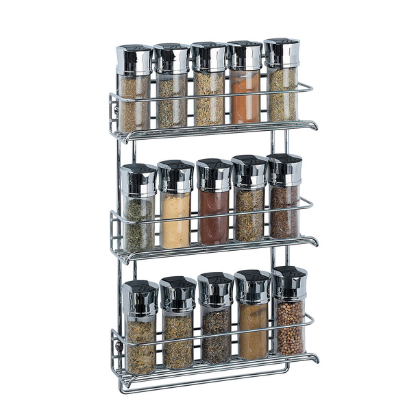 Image of: Wall Mount Spice Rack
