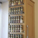 Wall Mounted Spice Rack For Home Furniture Ideas