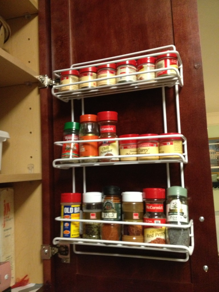 Image of: Wall Spice Rack Ideas Storage