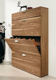 Picture of: Wood Shoe Cabinet