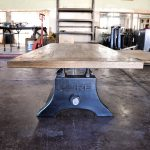 antique drafting table recover