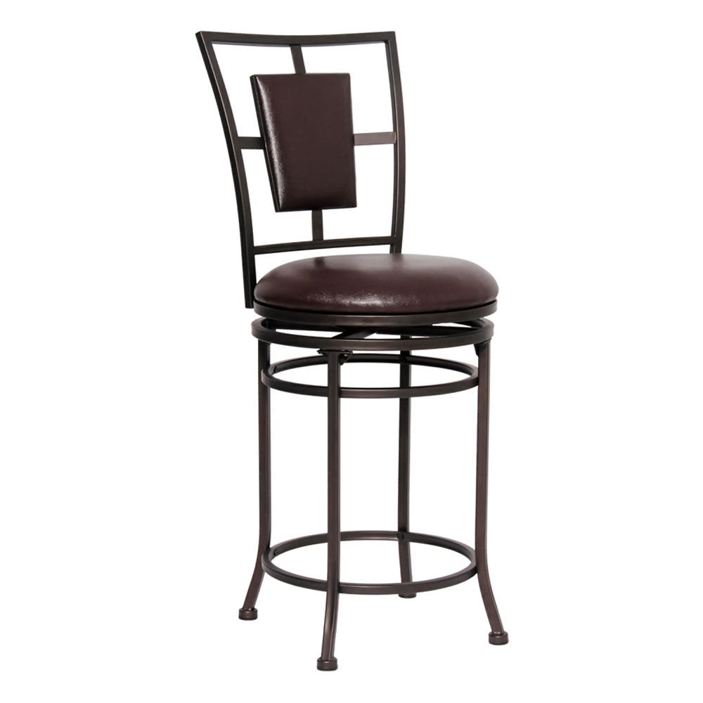 Counter Bar Stools Design Elegant Black Image