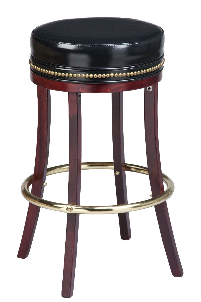 Counter Bar Stools Design Elegant Black