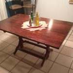 dining table antique drafting table