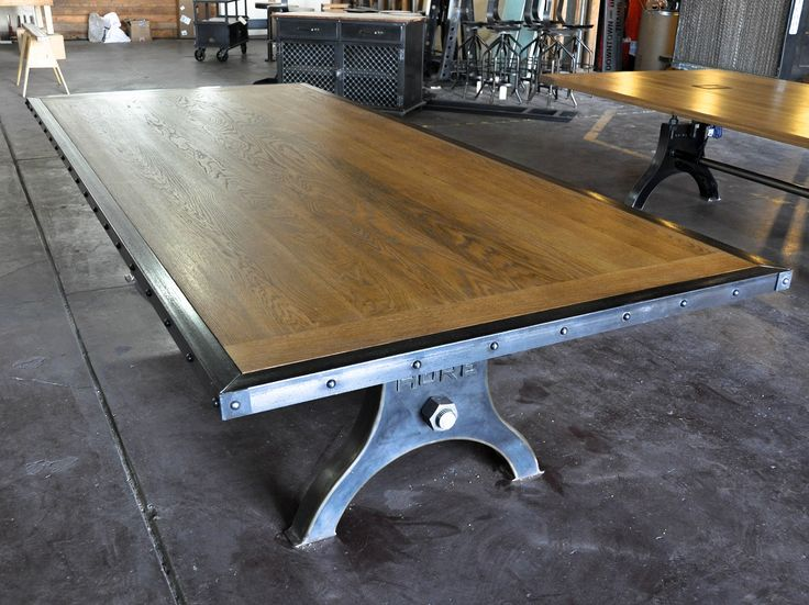 Image of: dining table from antique drafting table