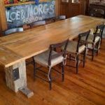 farmhouse dining room tables picture