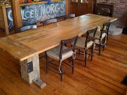 Image of: farmhouse dining room tables picture