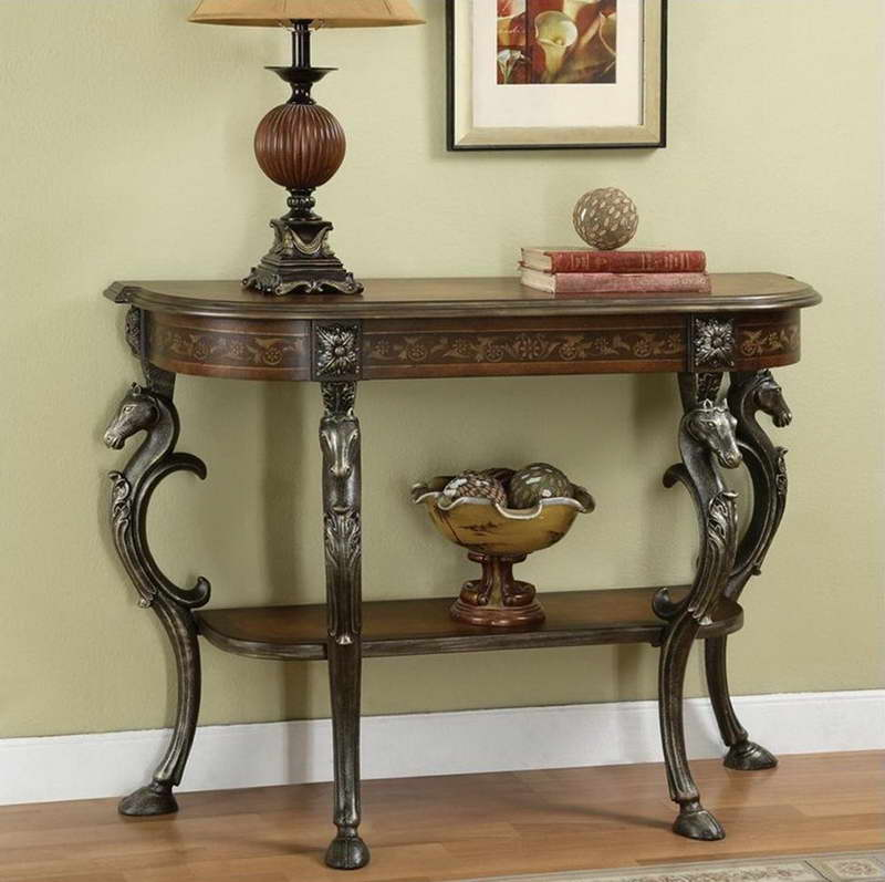 Image of: foyer table With Unique