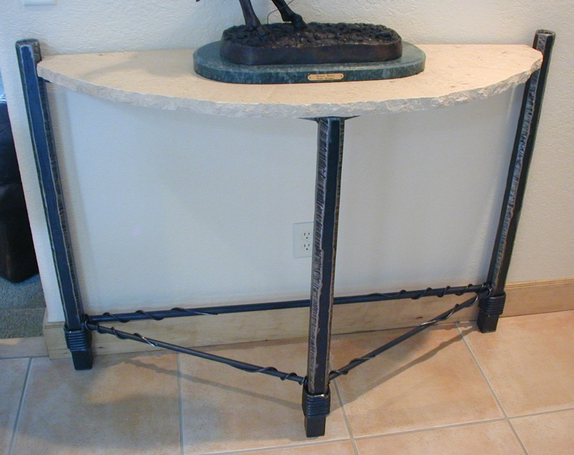 Image of: foyer table designs ideas