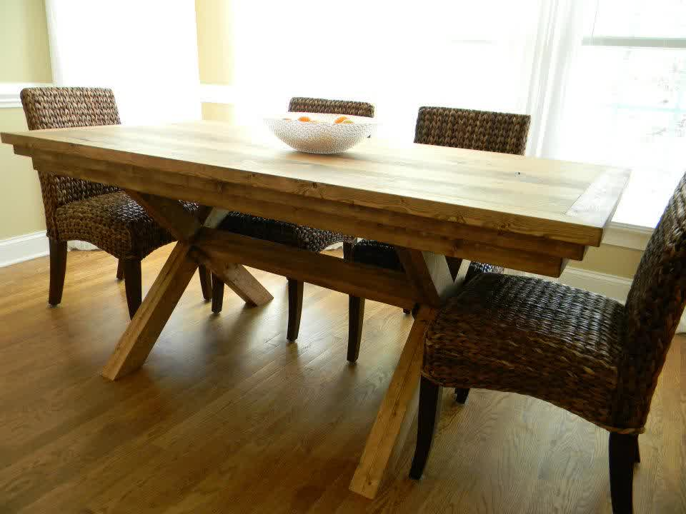 Image of: giveaway grassland dining table carolina farmhouse
