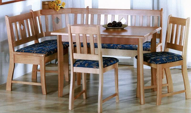 Picture of: lovely breakfast nook set