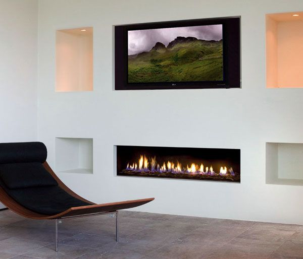 Modern Gas Fireplace Design