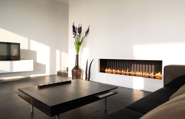 Big Modern Gas Fireplace Ideas