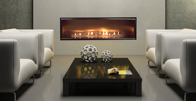 Nice Modern Gas Fireplace