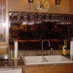 under cabinet wine glass rack photos