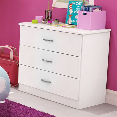 Picture of: 3 Drawer Contemporary Dresser