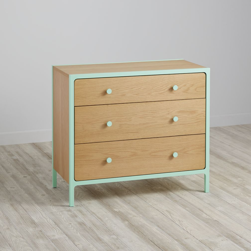 3 Drawer Dresser Wooden