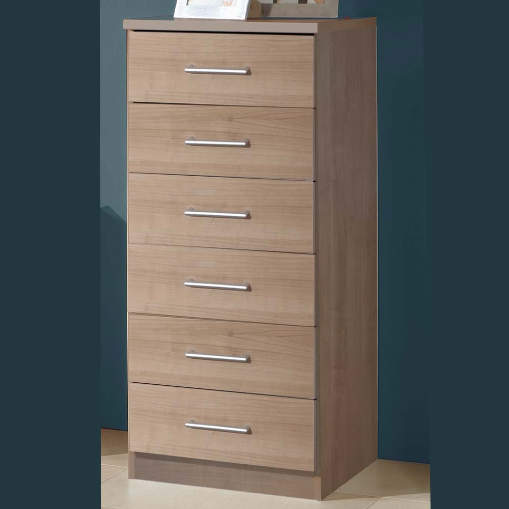 Picture of: 6 Drawer Chest Dresser