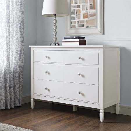 Image of: 6 Drawer Chest White