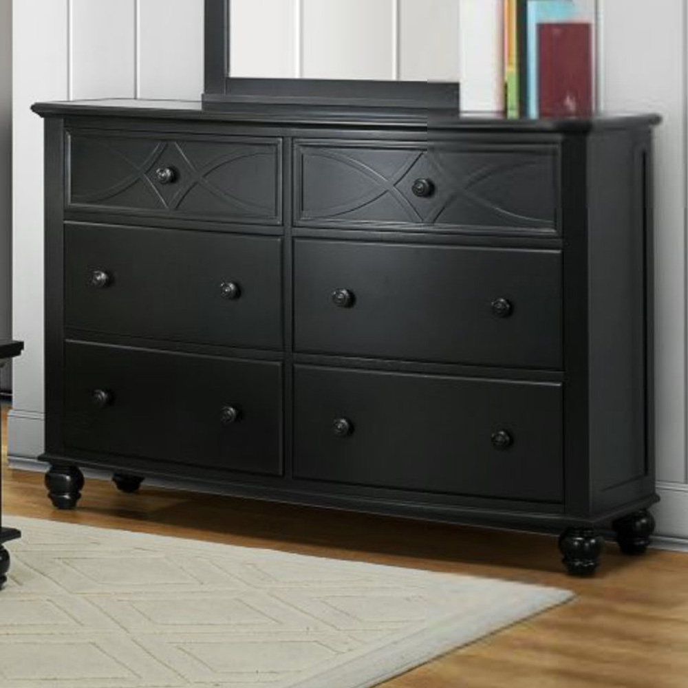 Picture of: 6 Drawer Dresser Black Target